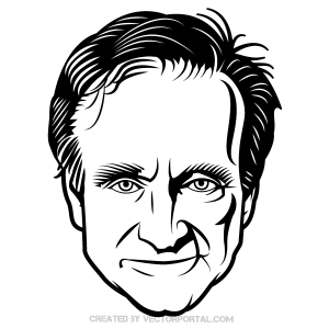 358-robin-williams-vector-image