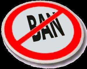 ban the ban