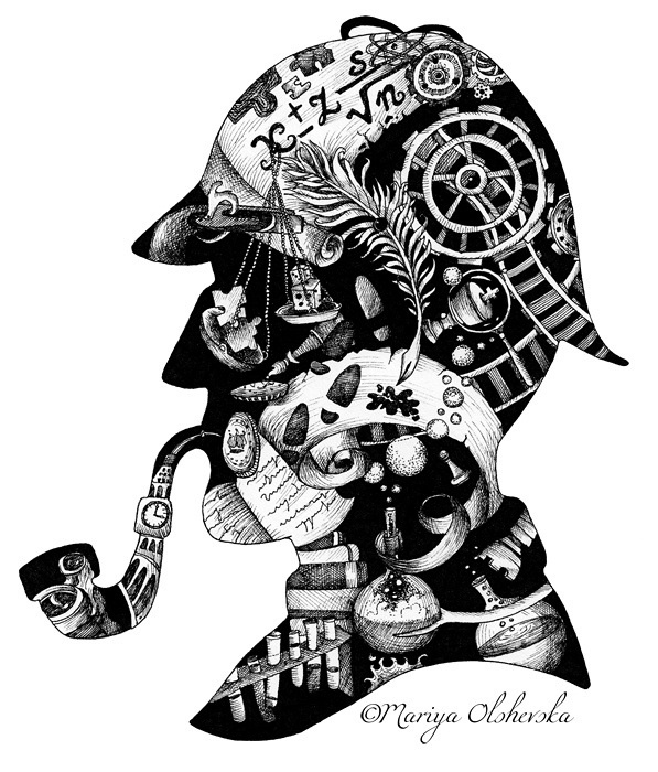 sherlock-doodle